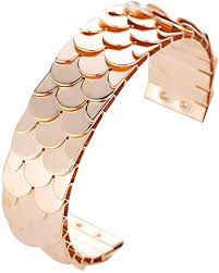 oAtm0eBcl Open Bangle, Fashion Hipster <b>Fish Scales Sequins</b> ...