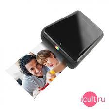 Фотопринтер <b>Polaroid ZIP Black</b> черный POLMP01B. <b>Принтеры</b> ...