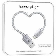 Зарядный кабель Lightning to USB Deluxe Space Grey, серый ...