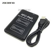 NFC считыватель <b>USB</b> PM3 бесконтактная смарт-<b>карта</b> ic и ...