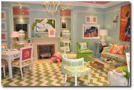 lilly pulitzers beachy style furniture