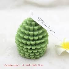 <b>3D</b> Christmas Pine Cone Food-grade <b>Silicone Candle Mold</b> ...
