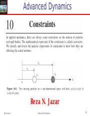 10 <b>Advanced</b> Dynamics-Constraints-1.pdf - <b>Advanced</b> Dynamics ...