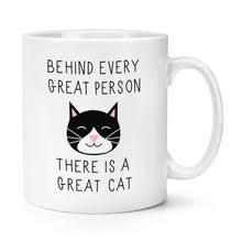 За каждым великим человеком стоит отличная кошка 10 унций ...