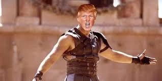 Donald Trump: Warrior male