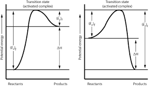 chemistry graphs  potential energy diagrams