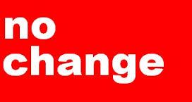 「no change」の画像検索結果