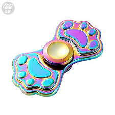 OLD TEUCER Rainbow <b>Cute Cat</b> Claw Hand Spinner Fingertip Gyro ...