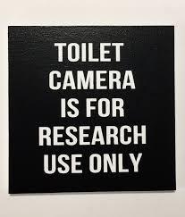 <b>TOILET</b> CAMERA, <b>Funny Bathroom</b> Signs, <b>Bathroom</b> Sign ...