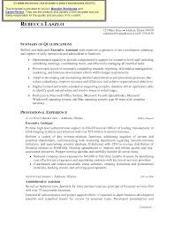 executive assistant resumes samples sample resume examples executive assistant