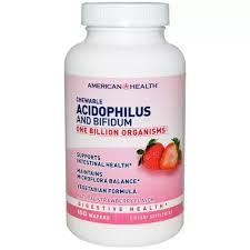 American Health Probiotics <b>Chewable Acidophilus And Bifidum</b>