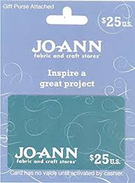 Jo-Ann Stores $25 Gift Card: Gift Cards - Amazon.com