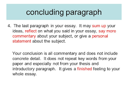the writing process terminology essay  a piece of writing that  the last paragraph in your essay it may sum up your