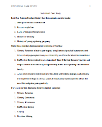 case study essay format