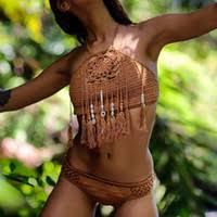 <b>Tassel</b> Halter <b>Sexy Bikini</b> Swimwear Canada | Best Selling <b>Tassel</b> ...