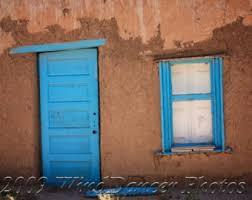new mexico home decor: new mexico blue door blue door photo fine art photo southwest new mexico southwest photo home decor