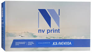 Тонер-<b>картридж NV Print KX-FAT410A</b>, черный, для лазерного ...