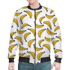 "Бомбер ""<b>Бананы</b>"" #2391132 от Анастасия - <b>Printio</b>"