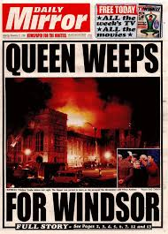 「1992 Windsor Castle fire」の画像検索結果