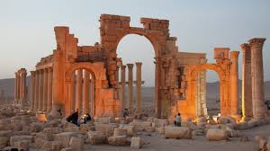 Image result for Baal temples arches being built in NY and London