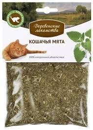 <b>Лакомство</b> для кошек <b>Деревенские лакомства Кошачья мята</b> ...