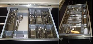 kitchen items store: customizable kitchen drawer dividers in stainless steel