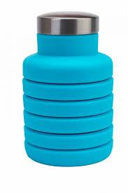 <b>Бутылка</b> для воды <b>силиконовая</b> складная 500мл <b>BRADEX</b> TK ...