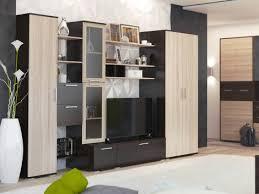 Гостиная <b>Евро</b>| <b>Стенка Евро 01</b> | цвет сонома | Мебельная ...