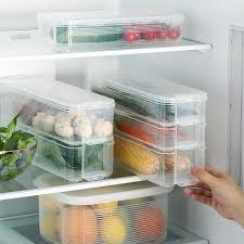 Charm Food <b>Storage Containers</b> with Lid <b>Refrigerator Storage Box</b> ...