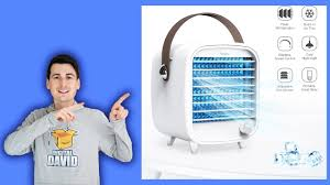 <b>Portable Cooling Fan</b> with Icebox // SmartDevil Personal Air Cooler ...