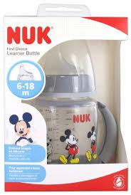 NUK First Choice <b>Learning Cup</b> 150ml <b>Disney Baby</b> 6-18 Months