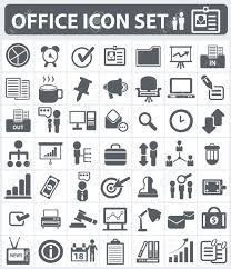 office human resource and business icon set royalty cliparts office human resource and business icon set stock vector 19208137