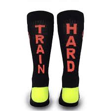 Google Express - Inspyr Socks, <b>Train Hard</b> Athetic Lifestyle Crew ...