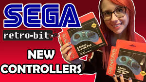 NEW <b>Sega Genesis Controllers</b> by Retro-Bit - YouTube