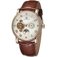 <b>Forsining</b> Men's Original Automatic Watch with <b>White</b> Dial ... https ...