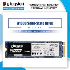 <b>Kingston A1000</b> NVMe <b>M</b>.<b>2</b> 2280 SATA SSD 120GB 240GB 480GB ...