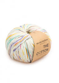 The <b>Hand Painted 100</b>% Pima Cotton | We Are Knitters