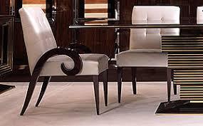 high gloss walnut dining armchair art pc2017 art deco dining table high