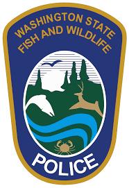 Police Badge logo of WA State Fish and Wildlife