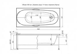 <b>Акриловая ванна Aquanet Dali</b> 160x70 в интернет-магазине ...