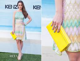 Alicia Sanz In Missoni - <b>Kenzo Summer</b> Party - Red Carpet Fashion ...