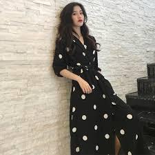 SuperAen Summer Women's <b>Dress</b> Korean <b>Style Fashion V neck</b> ...