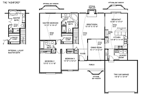 Custom Home Floorplans   The Ashford   St  Louis  MOAshford Custom Built Home Floor Plans