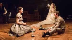 review great expectations especially for the plot newsworks from left kate czajkowski as estella sally mercer as miss havisham and josh