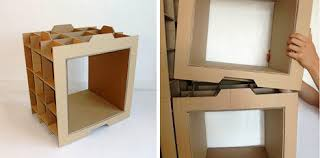 if you want to work on a diy cardboard furniture project you will need a stationery knife for cutting the cardboard a scalpel or an electric jigsaw a cardboard furniture diy