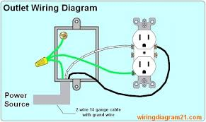 house electrical wiring diagram how to wire multiple electrical outlet receptacle in parallel serie wiring diagram