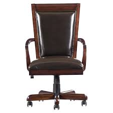 bett leather office chair vine brown leather office chairs