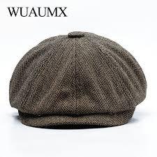 Best Deal #ed50 - <b>Wuaumx Unisex</b> Autumn Winter Newsboy Caps ...