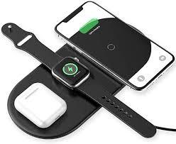 <b>Baseus</b> Wireless Charger, <b>Smart</b> 3 in <b>1</b> Fast Wireless Qi Charging ...