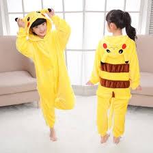 Shop <b>Children</b> Pokemon Pikachu <b>Anime</b> Onesie <b>Kids Girls</b> Boys ...